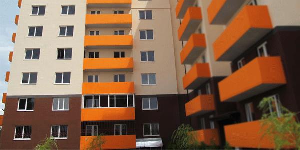 В Херсоне 9-этажку утеплили современным утеплителем ANSERGLOB